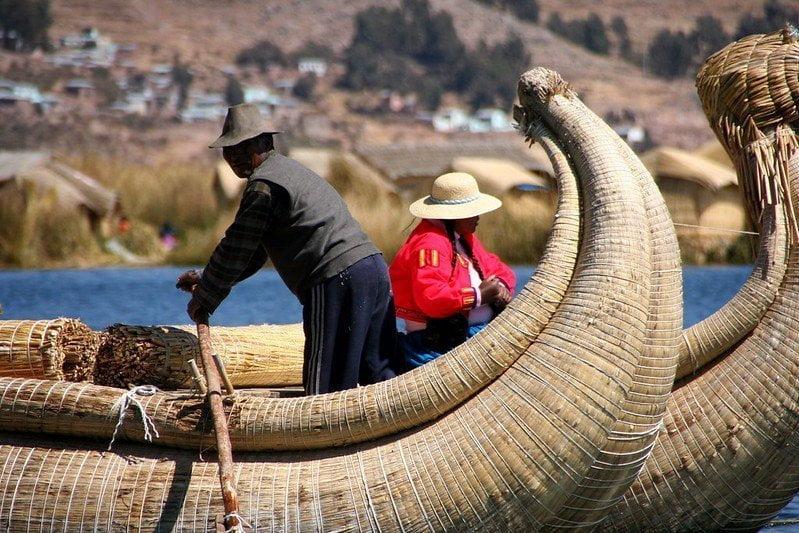 Lago Titicaca, Perú / Flickr @rial1975